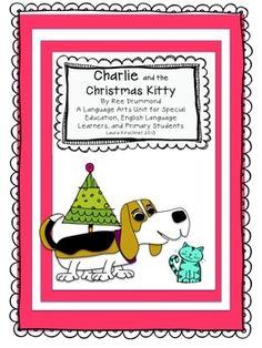 Flash Freebie! Feeback appreciated! Charlie and the Christmas Kitty: Language Arts Unit