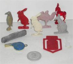 Vintage Lot of Cracker Jack Toys