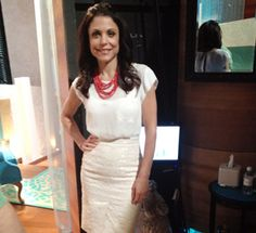 Top: Joie  Skirt: Dolce & Gabbana   Shoes: Manolo Blahnik  Jewelry: Melinda Maria, Stella & Dot