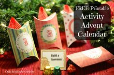 Holiday Traditions: Free Printable Activity Advent Calendar - Only Passionate Curiosity