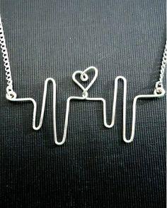 Heartbeat necklace
