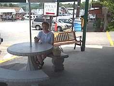 """Always have to have ice cream. Downtown """"Lake Of The Ozarks"""". Lots of interesting stores to walk around and see."""