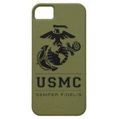 USMC Semper Fidelis [Semper Fi] iPhone 5 Covers