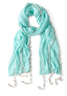 Mint to Be Scarf, #ModCloth $17.99