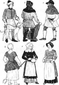 15th-CENTURY DRESS