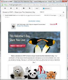 World Wildlife Foundation Gift Catalog