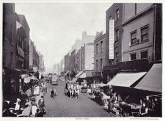 Pitfield Street, Hoxton, London, 1896