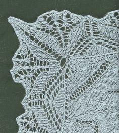 lace knit, knit lace, knit edg, knit project