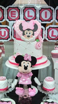 Amazing Minnie Mouse Birthday Party! See more party ideas at CatchMyParty.com!