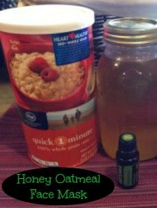 Honey Oatmeal Face Mask - Easy DIY