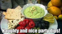 Bring in the New Year with naughty and nice party dips! » http://pcc.coop/U00OoC [VIDEO]