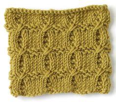 Knit Stitch: Cross Rib @ Afshan Shahid