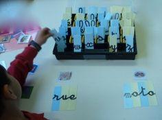 dictées muettes avec les lettres mobiles