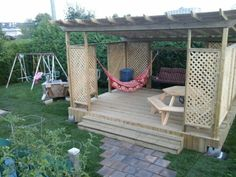 Pergolas on pinterest pergolas pergola patio and coins - Ikea pergolas jardin ...