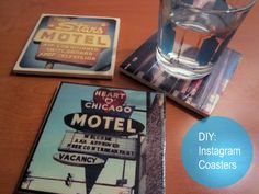 DIY: Instagram Coasters