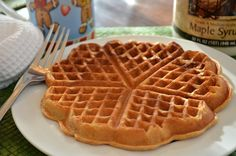 Gingerbread Waffles - light, crispy, and perfectly spiced   Three Many Cooks