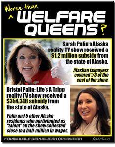 REAL welfare queens!