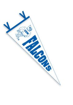 Product: Concordia University Wisconsin Falcons 9'' x  24'' Pennant $14.00