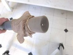 Find lost objects with a vacuum and pantyhose. Brilliant