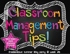 Classroom Management Party!