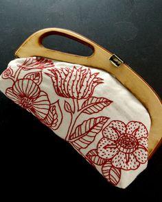 Yumiko Higuchi embroidered clutch
