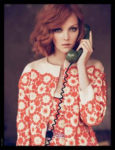 Model: Heather Marks | Photographer: Paul Schmidt - for Marie Claire Italia, May 2012 marie claire, hair colors, orang, ginger, red hair, paul schmidt, heather mark, clair italia, hairstyl
