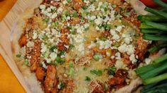 Wingless Buffalo Chicken Pizza