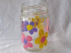 fingerprint flower vase for Mother's Day
