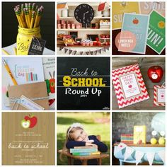 Back to School Round Up 2014 @ Blissful Roots backtoschool diy, school round, back to school