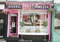 The Tea Cosy, Brighton campest tearoom, tea time, shop, teas, store fronts, afternoon tea, tea room, tea houses, tea cosies