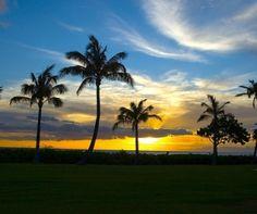 Kauai sunset!