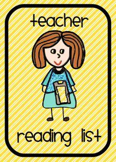 Teacher reading list and tips for professional development.