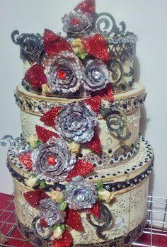 let them eat cake!!  love the glitter