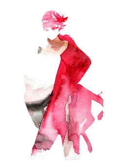 TOP MAGAZINE UK -  Burberry by LUIS TINOCO - ILLUSTRATOR, via Flickr