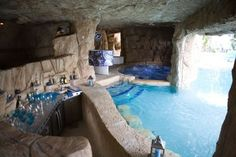 swimming pools, grotto pool, dream pools, outdoor kitchens, hot tubs, dream houses, luxury pools, outdoor pools, pool bar