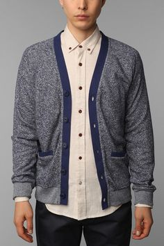 Field Study by Kyle Ng Canvas Trim Cardigan - $29.99