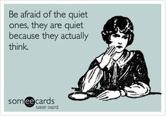 about quiet people