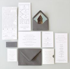 townhouse invitation by sideshow press