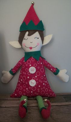 DIY elf on the shelf