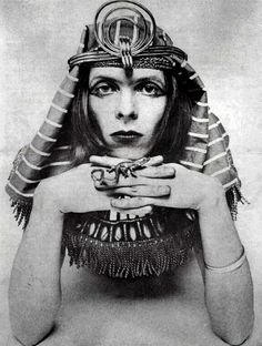 David Bowie as The Sphinx (1969) by Brian Ward