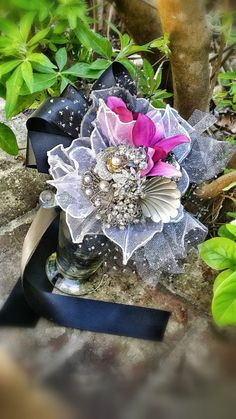 Custom Order for Prom or Bridal Antique Brooch by KAArtisticEvents, $85.00
