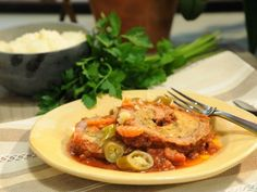 As seen on The Kitchen: Pammie's Braciole