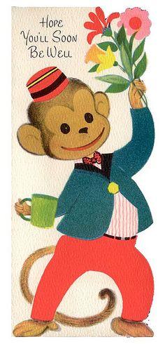 Cute vintage illustration
