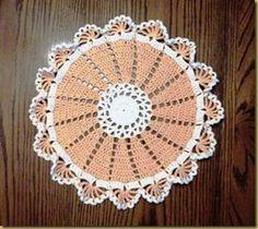 16-Spoke Doily doily patterns, crochet patterns, crochet doilies, doili pattern, yarn, crochetdoili, 16spoke doili
