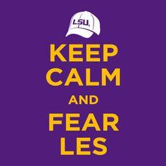 Geaux Tigers! LSU!