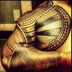 poly tattoos. #love