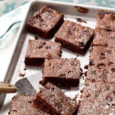 Triple Fudge Brownies this was so easy and awesome... dense and intense!