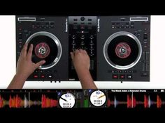 Serato DJ with the Numark NS7