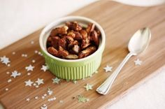 Christmas spicy mixed nuts
