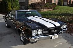 1970 Chevrolet Chevelle SS LS6 2 Door Coupe - Barrett-Jackson auction (sold, $148,500, Apr 2013)